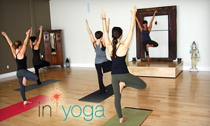InYoga Center - Valley Village: $35 for 10 Yoga Classes at InYoga Center in Valley Village ($130 Value)