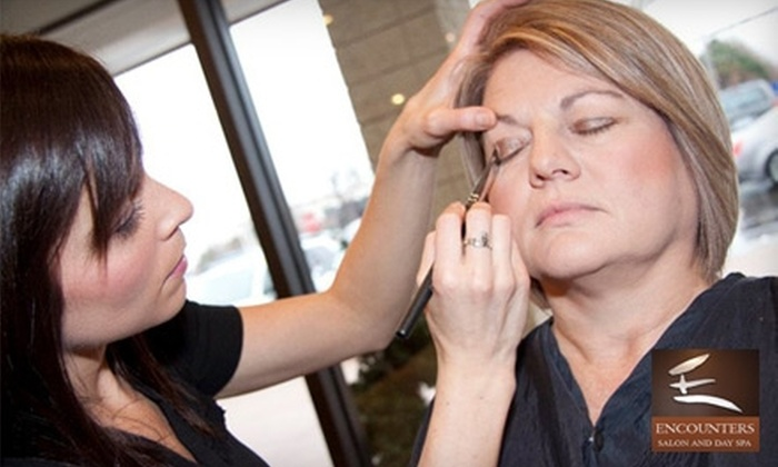 Encounters Salon and Day Spa - Shannon Valley Estates: $50 for $100 Worth of Services at Encounters Salon and Day Spa