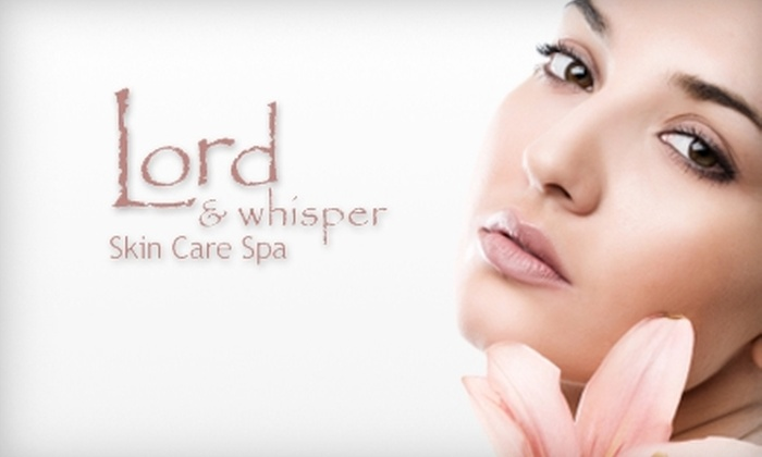 Lord & Whisper Skin Care Spa - Multiple Locations: Spa Packages at Lord & Whisper Skin Care Spa. Choose Between Two Options.
