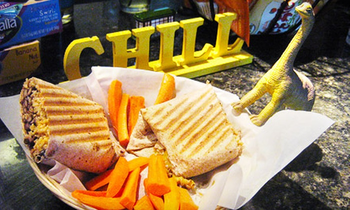 Main Squeeze - Oxford: $4 for $8 Worth of Organic Beverages and Café Fare at Main Squeeze in Oxford