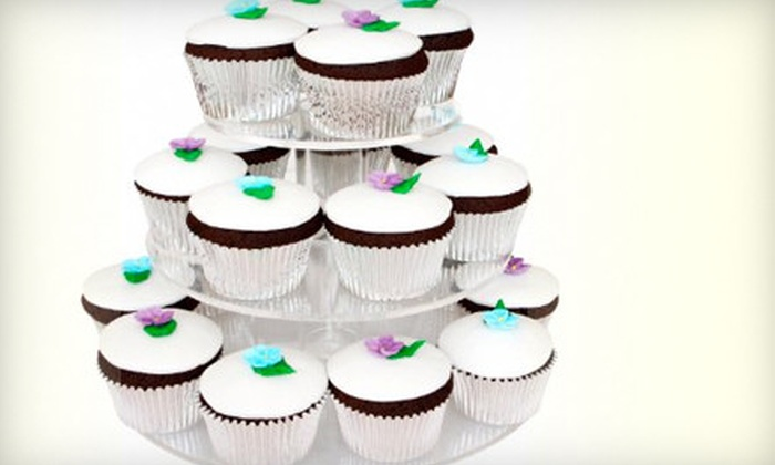 Helena Wirth Cakes - Sherman Oaks: One Dozen Cupcakes, 6-Inch Cake, or Three-Tier Wedding Cake from Helena Wirth Cakes (Up to 59% Off)