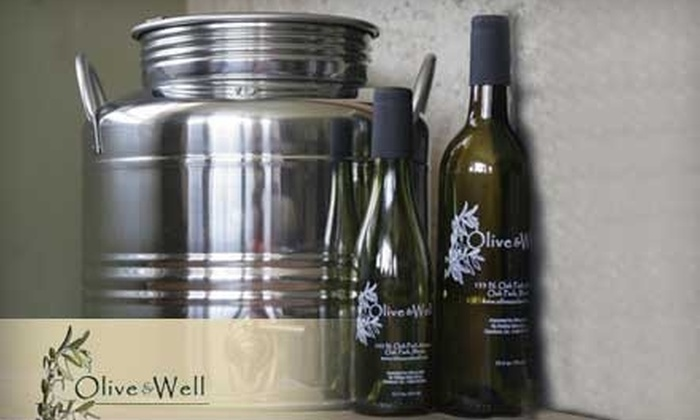 Olive & Well - Chicago: $15 for $30 Worth of Olive Oil and Gourmet Foodstuffs at Olive & Well in Oak Park
