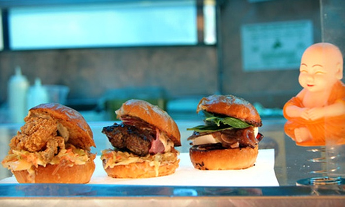 Mark's the Spot Truck - Napa / Sonoma: $14 for an Upscale-Comfort-Fare Meal for Two from Mark's the Spot Truck (Up to $29 Value)