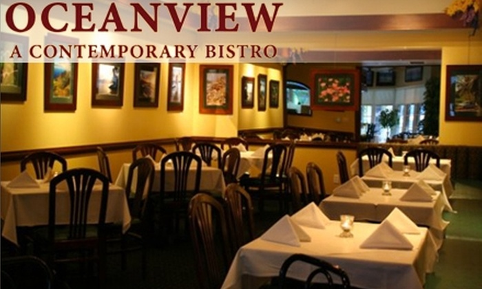 Oceanview Bistro - La Crescenta-Montrose: $15 for $30 Worth of Fare at Oceanview Bistro in Montrose