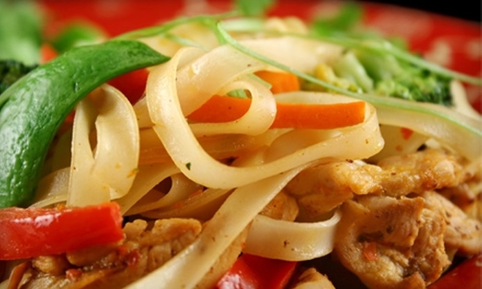 Karakade Thai Cuisine - Palm Park: $15 for $30 Worth of Thai Cuisine and Drinks at Karakade Thai Cuisine in Redwood City