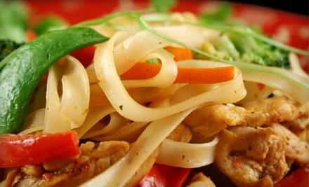 $30 Groupon to Karakade Thai Cuisine - Karakade Thai Cuisine in Redwood City