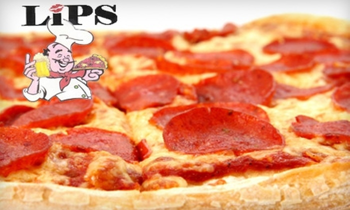 LIPS - Pooler: $10 for $20 Worth of Pizza and More at LIPS
