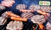 Natures Prime Organic Foods: $30 for Three Packages of Steak Burgers and Two Packages of Turkey Burgers from Nature's Prime Organic Foods (Up to $60 Value)
