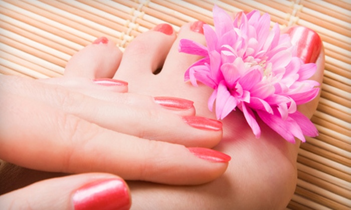 Christina's Salon & Boutique - Jeannette: $35 for a Spa Manicure and Pedicure at Christina's Salon & Boutique in Jeannette ($75 Value)