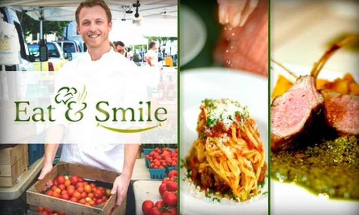 Eat & Smile Foods - Washington DC: $75 for $150 Toward Meal Delivery, In-Home Cooking Lessons, or Plated Dinners from Eat & Smile Foods