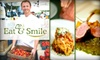 Eat & Smile Foods DO NOT CONTACT ANYMORE>>> THEY ASKED TO BE REMOVED FROM LIST - Washington DC: $75 for $150 Toward Meal Delivery, In-Home Cooking Lessons, or Plated Dinners from Eat & Smile Foods