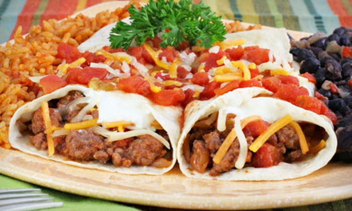 Fiesta Vallarta - Cherry Grove: $12 for $25 Worth of Mexican Dinner Fare or $5 for $10 Worth of Mexican Lunch Fare at Fiesta Vallarta
