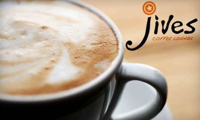 Jives Coffee Lounge - Old Colorado City: $4 for $8 Worth of Coffee, Sandwiches, and More at Jives Coffee Lounge