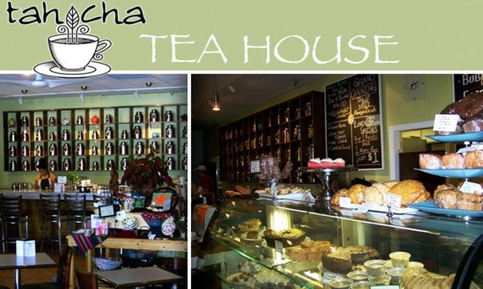tahCha Tea House - Tucker: $10 for $25 Worth of Tea, Pastries, and More at tahCha Tea House