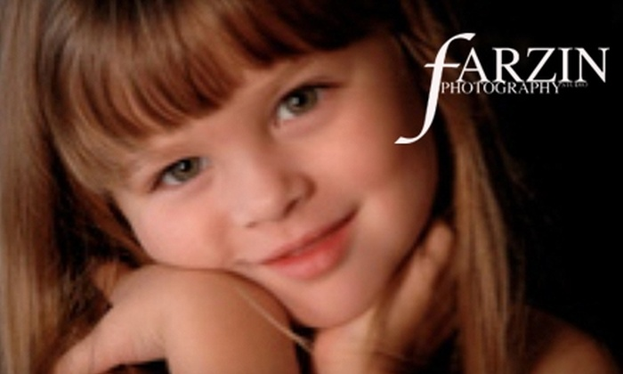 Farzin Photography - Orillia: $60 for a Photo Session with Prints ($309.62 Value) or $10 for a Passport Photo ($20 Value) at Farzin Photography