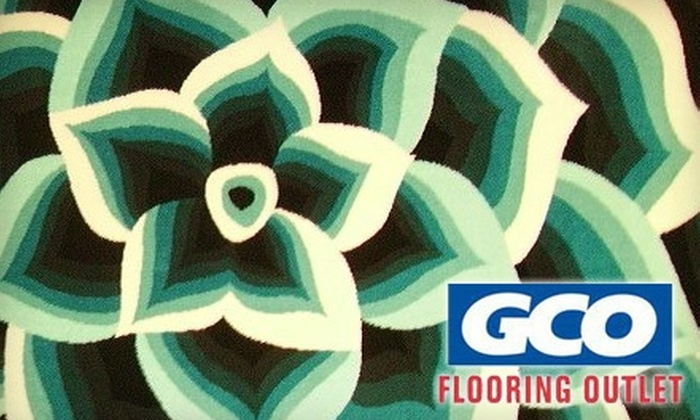 GCO Flooring Outlet - Rockford: $50 for $100 Worth of Area Rugs at GCO Flooring Outlet