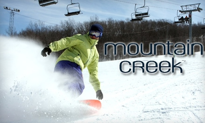 Mountain Creek - Vernon: $37 for Full-Day Lift Ticket to Mountain Creek (Up to $61.99 Value)