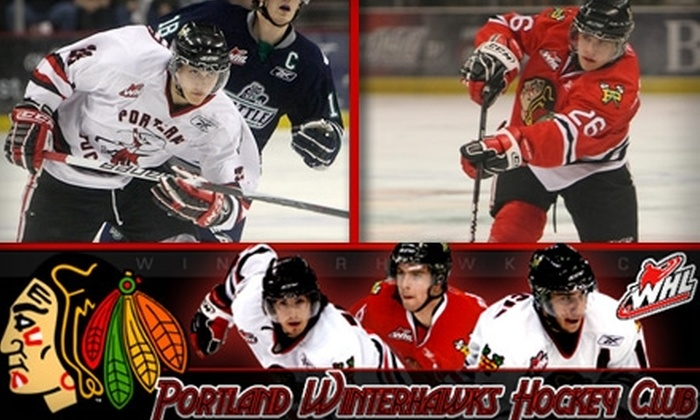 Portland Winterhawks - Lloyd District: $16 Portland Winterhawks Ticket for March 5 and a Winterhawks Hat ($50 Value)