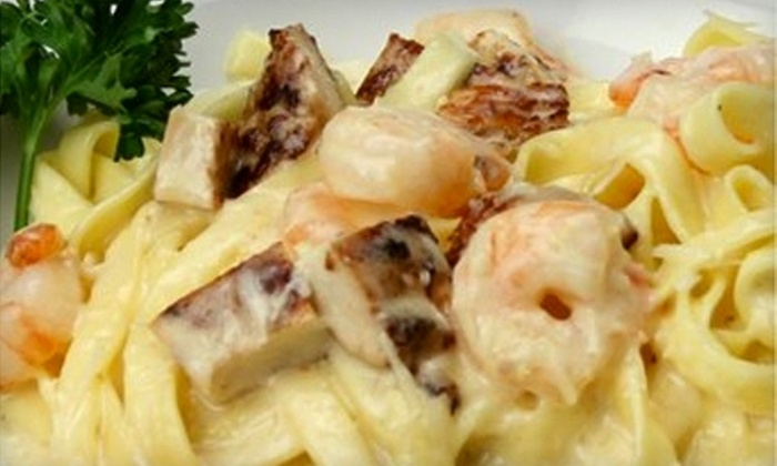 Vernon's Café - Niles: $10 for $20 Worth of Italian Fare and Drinks at Vernon's Café