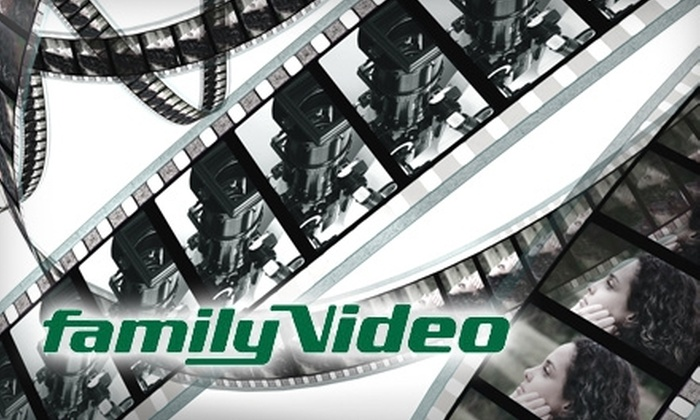 FamilyVideo.com: $10 for $20 Worth of Movies, Video Games, and More from FamilyVideo.com