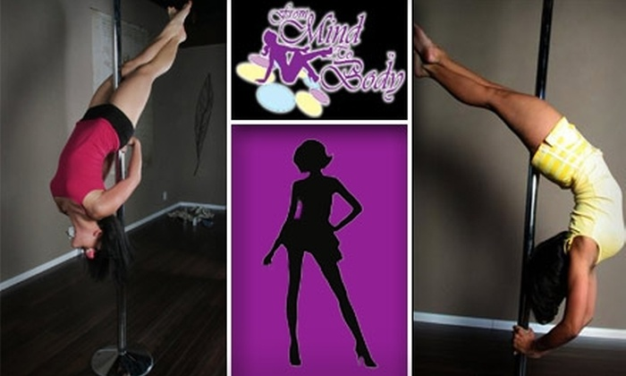 From Mind to Body - Multiple Locations: $24 for Two Exotic-Dance or Pole-Dance Classes at From Mind to Body ($60 Value)