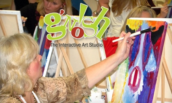 G'nosh - Multiple Locations: $12 for Any Art Class at G'nosh (Up to $40 Value)