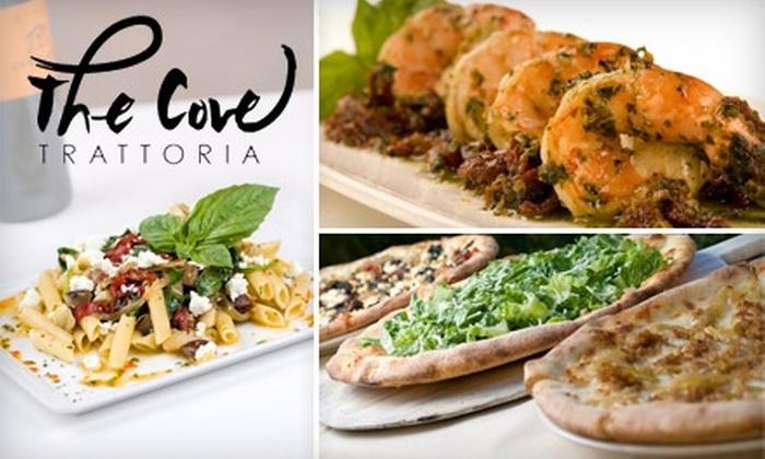 Cove Trattoria - Phoenix: $15 for $30 Worth of Italian Fare at The Cove Trattoria in Scottsdale