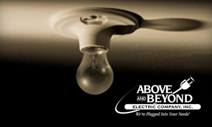 Above and Beyond Electric Company - Memphis: $59 for a Whole House Electrical Safety Inspection from Above and Beyond Electric Company