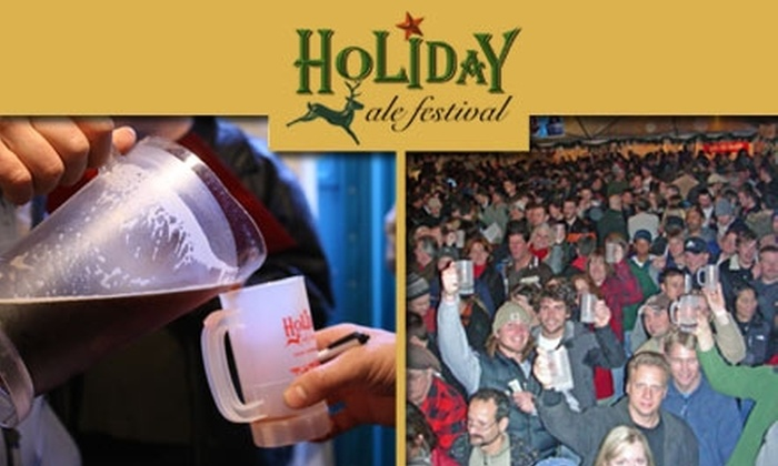 Holiday Ale Festival  - Portland: $10 for Beer-Tasting Package at Holiday Ale Festival ($20 Value). Buy Here for Wednesday, 12/2/09. Additional Dates Below.