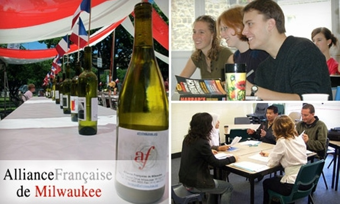 Alliance Française de Milwaukee - Shorewood: $49 for $100 Worth of Classes and Membership at Alliance Française de Milwaukee
