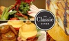 The Classic Diner - East Whiteland: $10 for $20 Worth of Diner Fare and Drink at The Classic Diner in Malvern