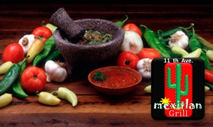 11th Ave Mexican Grill - Kaimuki: $12 for $24 Worth of Authentic Mexican Cuisine and Drinks at 11th Ave Mexican Grill