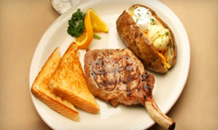 Clayton Steakhouse - Clayton: $20 for $40 Worth of Hearty American Dinner Fare at Clayton Steakhouse in Clayton