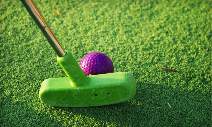 Captain Bligh's Landing - Clearwater: Round of Miniature Golf for Two or Four at Captain Bligh's Landing in Clearwater Beach