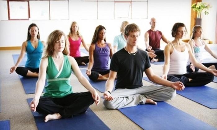 Semperviva Yoga - Multiple Locations: $49 for 10 Yoga Classes at Semperviva Yoga ($139 Value)