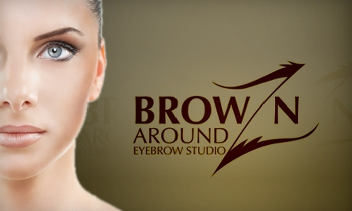 BrowZnAround Eyebrow Studio - Northeast Raleigh: $10 for Eyebrow Waxing and Shaping at BrowZnAround Eyebrow Studio ($20 Value)