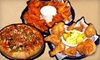 Half-Time Sports Grill - Newcastle: $10 for $20 Worth of Southern Fare, Pizza, and Drinks at Dark Horse Grill & Ice House in Newcastle