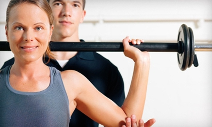 Gold's Gym - Multiple Locations: $59 for a Two-Month Membership, Fitness Assessment, and Two Personal Training Sessions at Gold's Gym (Up to $343 Value)