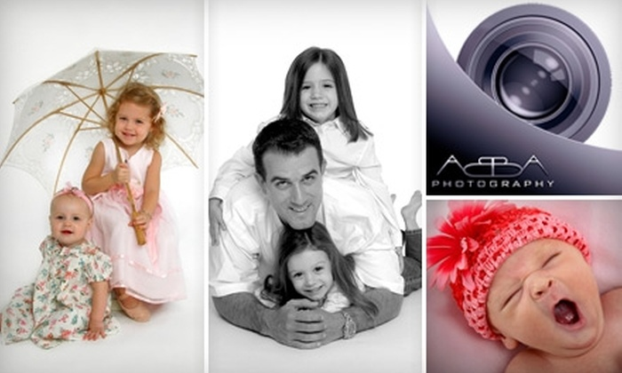 "Abba Photography - Longwood: $89 for a One-Hour Portrait Session and an Image Disc or One 11""x14"" Print, and Two 5""x7"" Prints at Abba Photography"