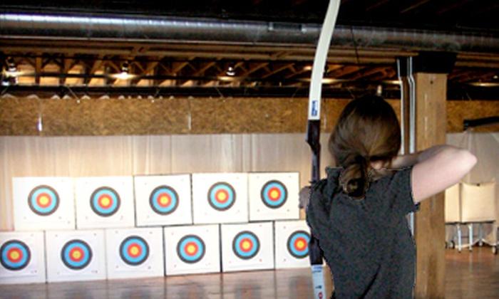 Chicago Archery Center - Bucktown: One or Four Drop-in Archery Classes at Chicago Archery Center