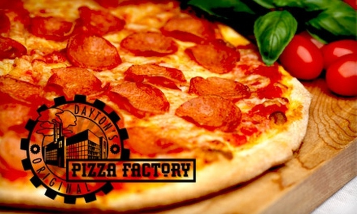 Dayton's Original Pizza Factory - South Park: $8 for $16 Worth of Pizza at Dayton's Original Pizza Factory