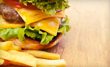 Double Cheeseburger Meal with Fries and Drinks for 2 (a $16 value) - Ron's Hamburgers & Chili in Tulsa