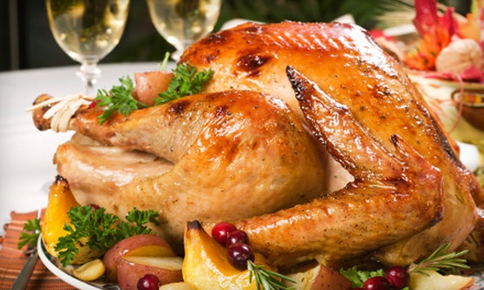 Cricket & Kyle's Catering - Summerville: Thanksgiving Turkey or Ham from Cricket & Kyle's Catering in Summerville (Half Off). Six Options Available