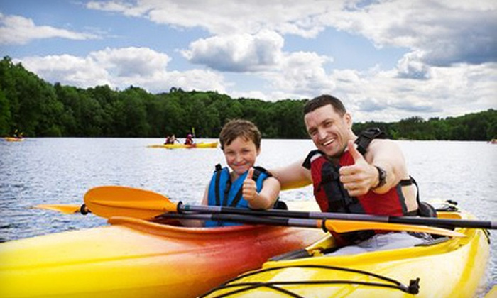 Buffalo River Canoe and Kayak Outfitters - West Seneca: Canoe or Kayak Tour or Two-Hour Rental from Buffalo River Canoe and Kayak Outfitters in West Seneca (Up to 56% Off)