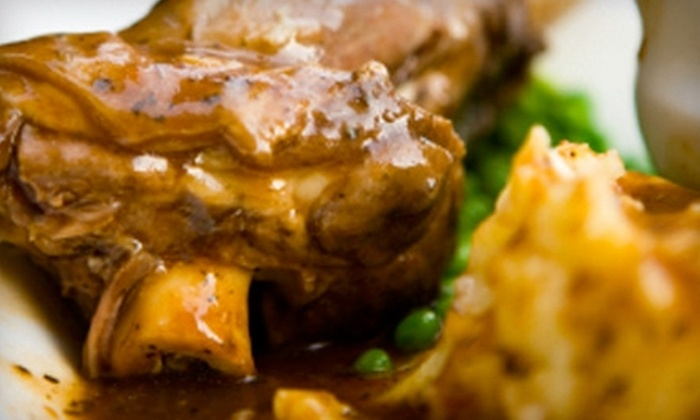 Tudor Rose - Hidden Valley: $15 for $30 Worth of Pub Fare and Drinks at Tudor Rose