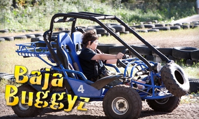 Baja Buggyz - Jacksonville Heights South: $15 for Four Dune Buggy Rides at Baja Buggyz (Up to $32 Value)