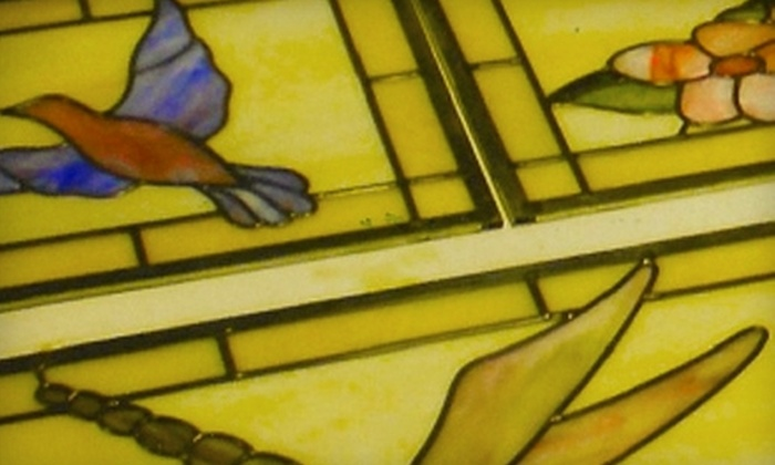 Stain Alive - Toronto (GTA): $79 for an Introductory Stained-Glass Workshop at Stain Alive ($180 Value)