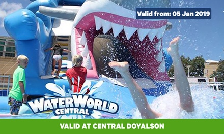 $17.50 for Unlimited Two-Hour Waterworld Pass at Waterworld Central Doyalson (Up to $25 Value)