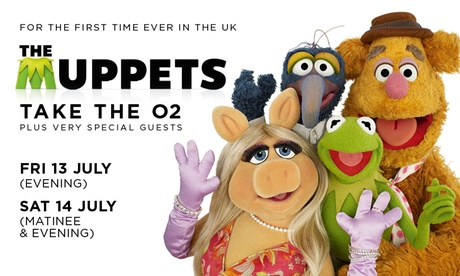 The Muppets Take The O2, 13 – 14 July, The O2 Arena, London (Up to 82% Off)