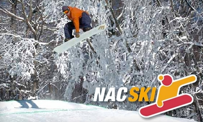 NAC SKI - Multiple Locations: $49 for Round-Trip Transportation and Lift Ticket to Devil's Head Resort from NAC SKI (Up to $108 Value). Four Dates Available.